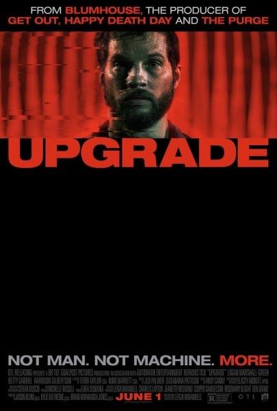 Reseña de la película Upgrade /Upgrade movie review
