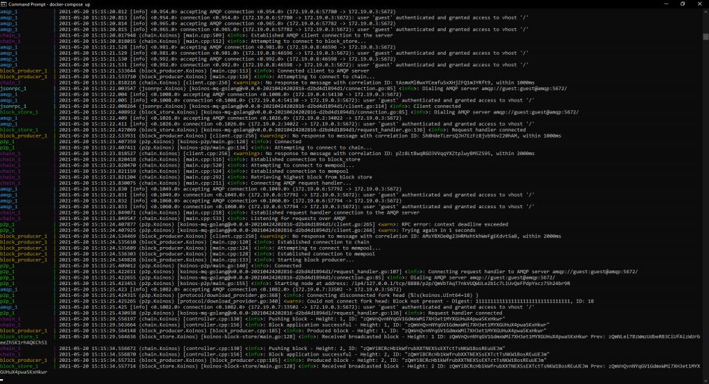 KOINOS testnet developer preview