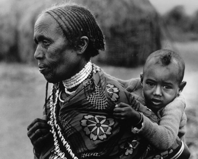 Grandmother carrying child in Borana Ethiopia Credit Courtesy United Nations Ray Witlin public.jpg