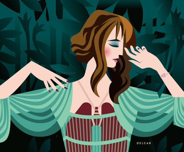 Florence+the machine illustrations <3