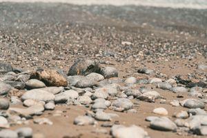 Rocks on a Beach at Crete, Greece