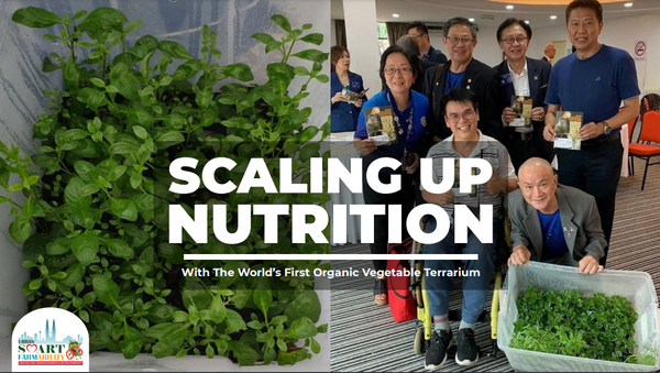 (LOVE KL Charity Drive) PwD Smart FarmAbility, Helping Our People Eat