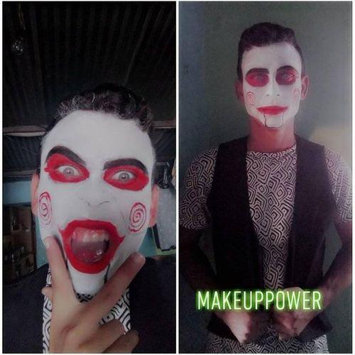 [ESP//ENG] Maquillaje inspirado en un payaso malvado.//Makeup inspired by an evil clown.