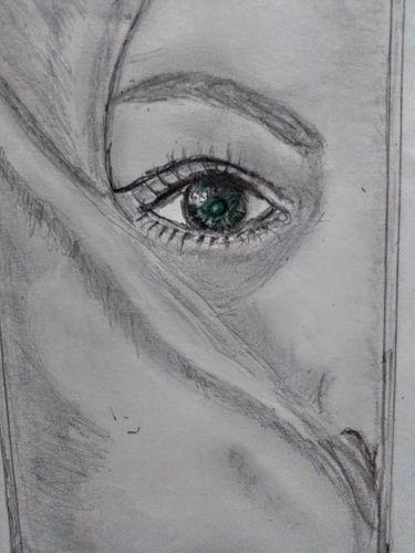 Drawing a hidden face