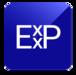 new Exxp logo, square transparent background