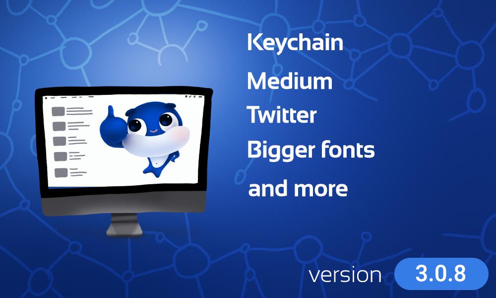 medium-twitter-keychain-ecency-integrations