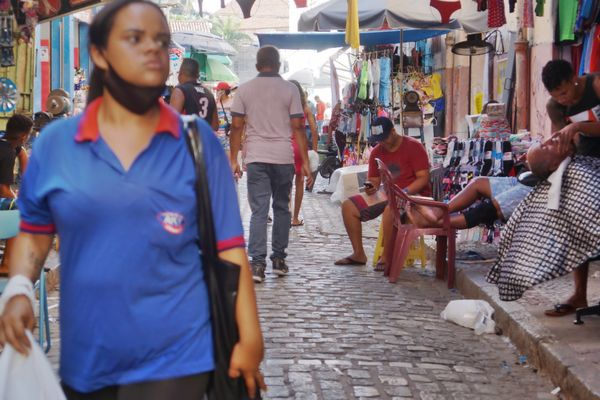 Trying to Survive - In the Street of Recife, Brazil by @jsantana