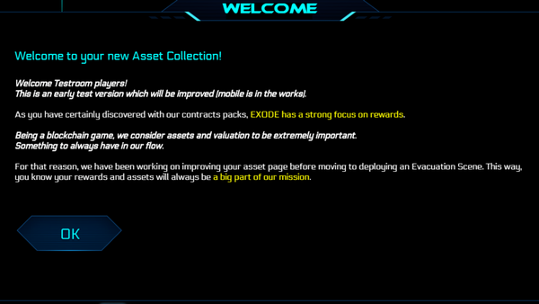eXode Collection page overview