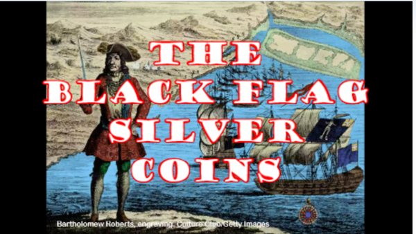 The BLACK FLAG Silver Coins for #PirateSunday