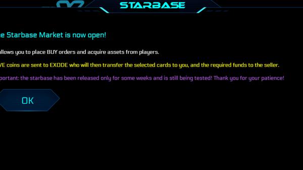 eXode Starbase market quick guide