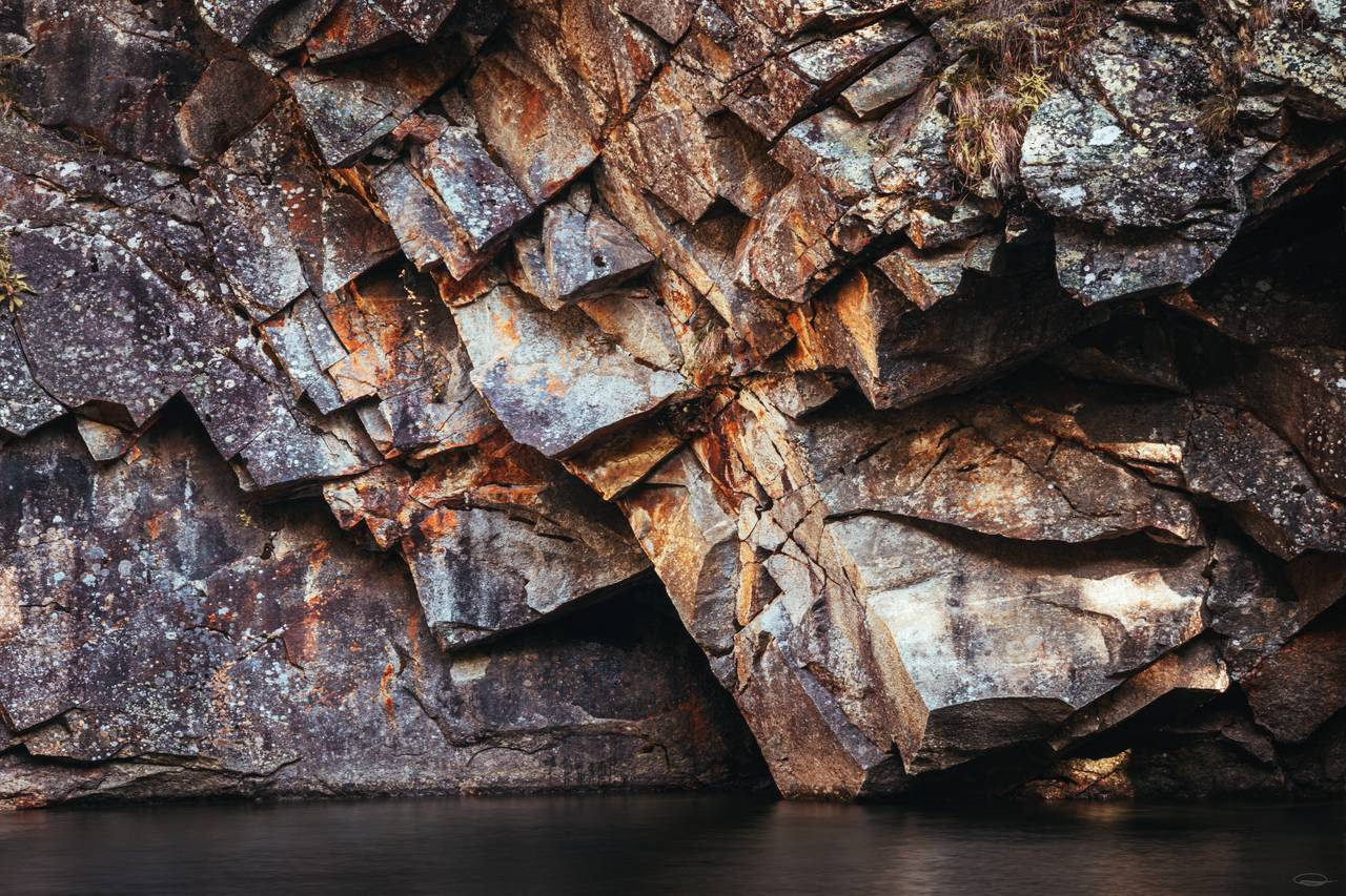 Abstract Photography | Intimate Landscape Photography - interesting Rock Formation
