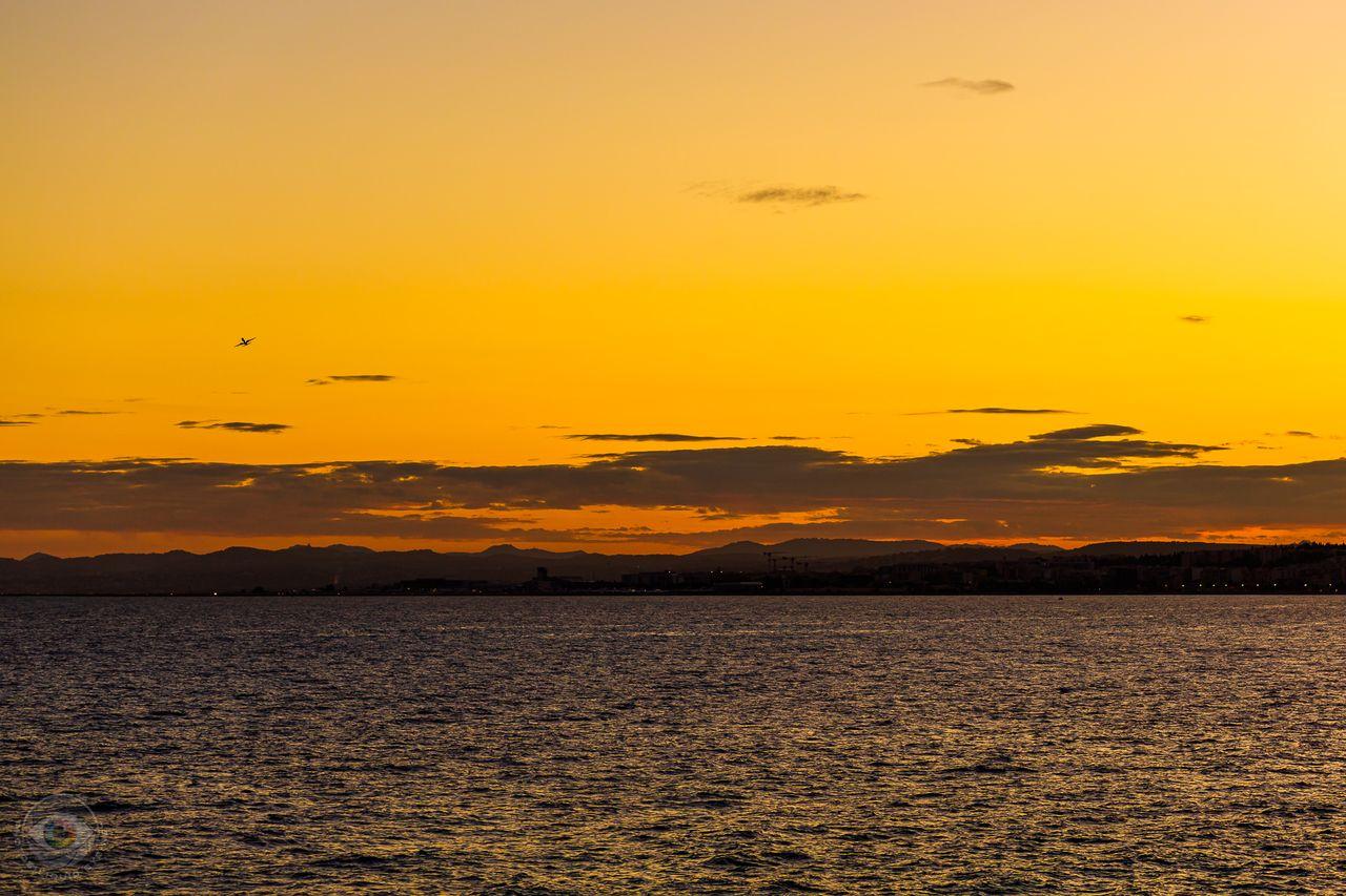 Côte d'Azur Sunset Take Off