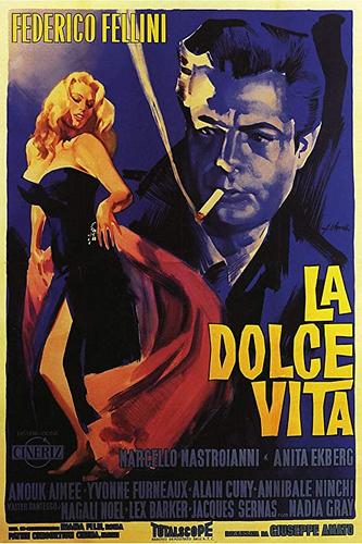 """Fellini's """"LA DOLCE  VITA (1960)"""" — A Critique"""