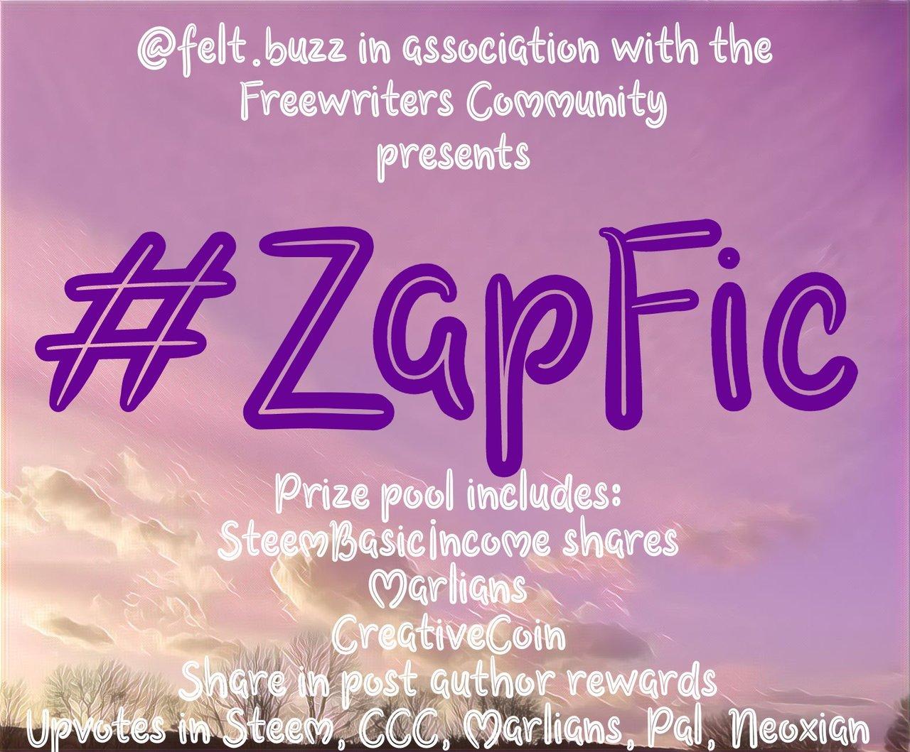 #Zapfic Microfiction Writing Contest. We are creative : #WeAreSteem