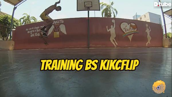 Training Bs Flip - MY SKATEHIVE PROGRESSION.