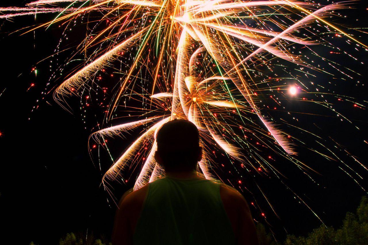 Ein Feuerwerk für den König
