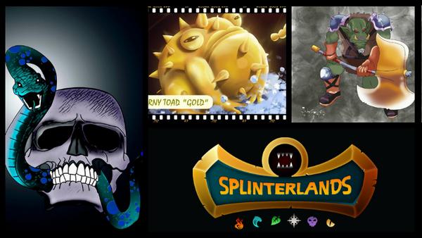 Splinterlands Art Contest! // Week 96 // 15 Booster Pack Prize!