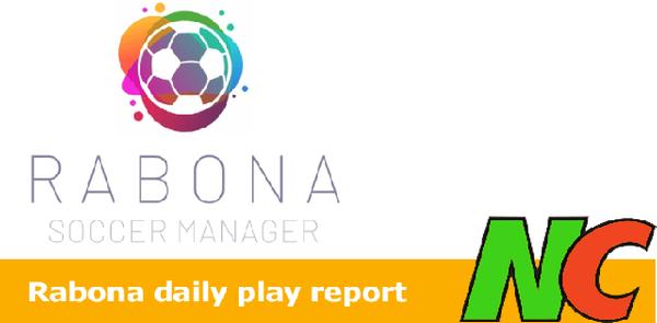 Rabona daily play report : 11-06-2021