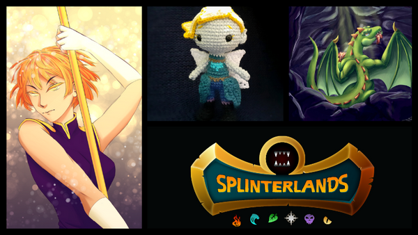 Splinterlands Art Contest! // Week 132 // 15 Booster Pack Prize!