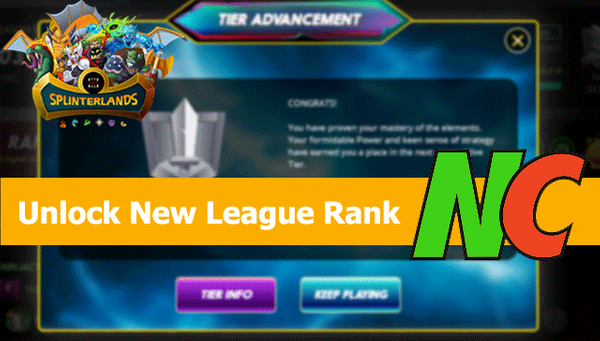 Unlock New League Rank  : 04-06-2021