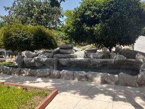Fuente de roca / Rock fountain