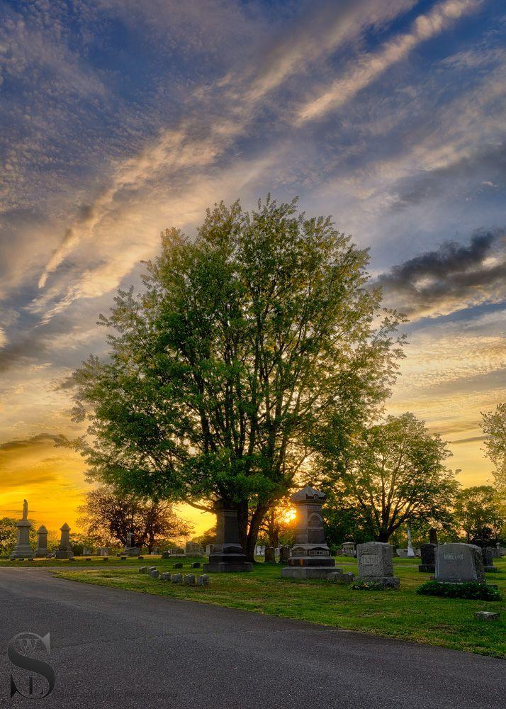 sunset in the cemetery.jpg