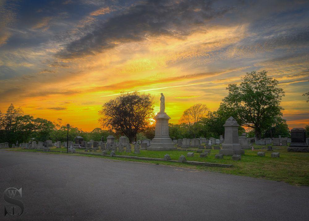 sunset in the cemetery-2.jpg