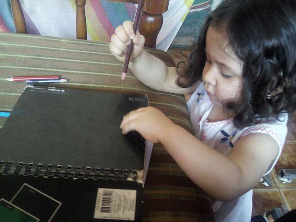 [ENG-ESP] Compartiendo un día entero con mi hija Camila - Sharing a whole day with my daughter Camila