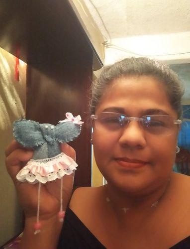 Elefante bebe de trapo.// Costura// Rag baby elephant.// Sewing //
