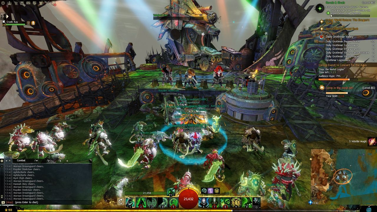 Guild Wars 2 Playfulfoodie gaming PvE