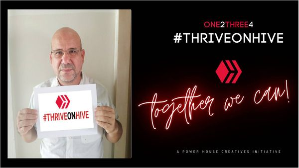 My Five for #thriveonhive by @marinmex