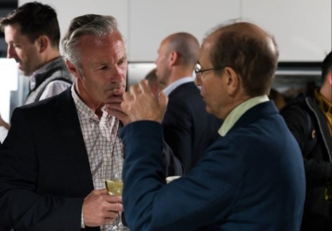 Phil Talbot (Left) and Silvio Micali (Right) - Sep 2019