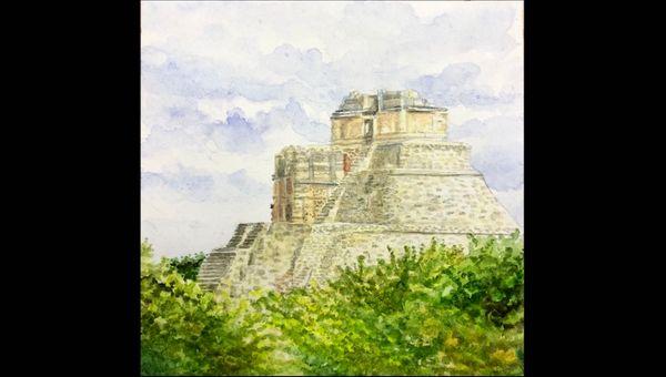Hidden   Watercolour Painting 🌸