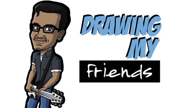 [ENG|ESP] Drawing my Friend Armandito | Dibujando a mi Amigo Armandito.