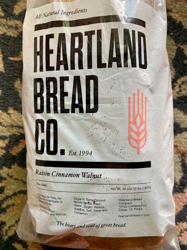 Review: Local Organic Cinnamon, Walnut Raisin Bread! This is a real nice bread!