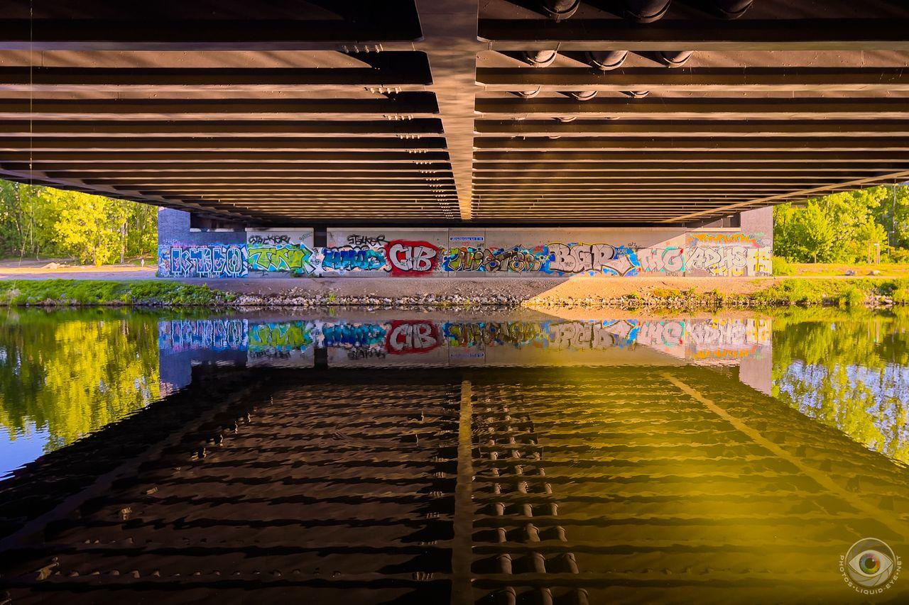 Mörschbrücke Graffiti