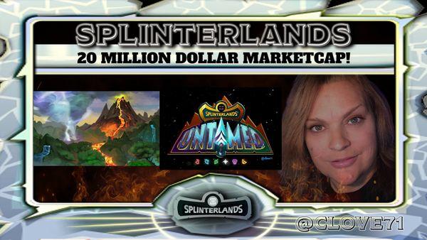Splinterlands Land & Untamed Packs are SOLD OUT! 20 MILLION Dollar Market Cap!