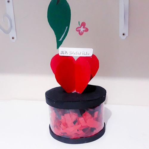 Hermosa caja de obsequio para papá en su día, realizada con materiales de provecho. 🎁 || Beautiful gift box for dad on his day, made with useful materials. 🎁 [ ESP-ING ]