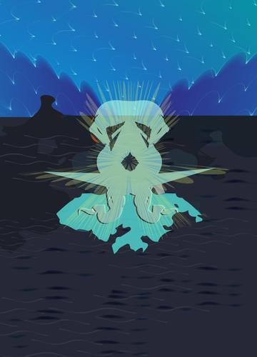 Immutable Illustration Monster