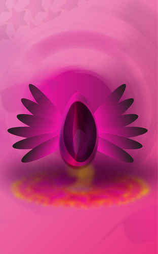 Illustration Imutable Cosmic Egg