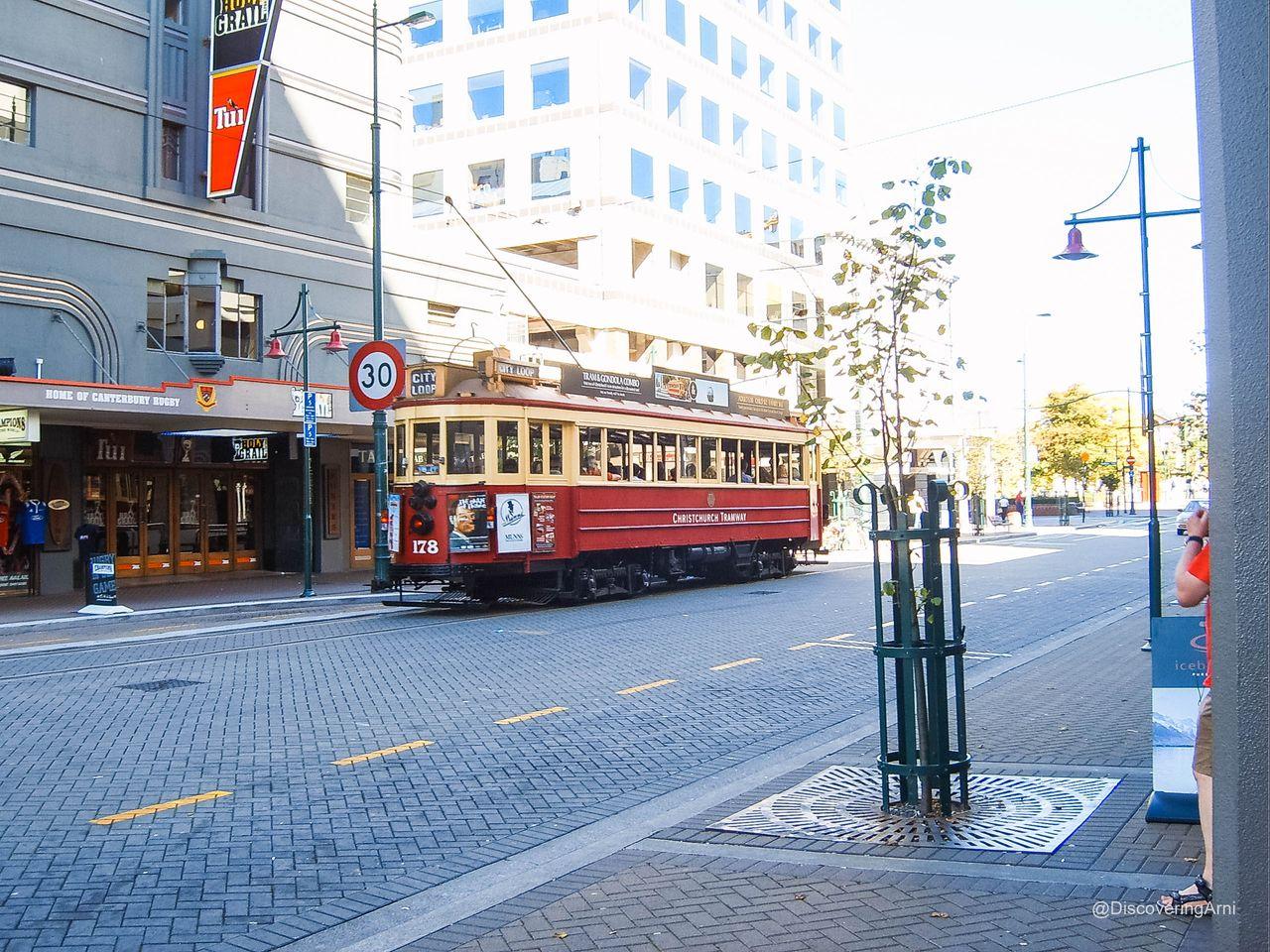 Christchurch in 2007