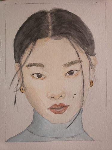 Portrait of women / Retrato de mujer