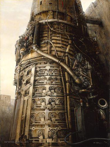 🎨 Machine - original painting (early works)