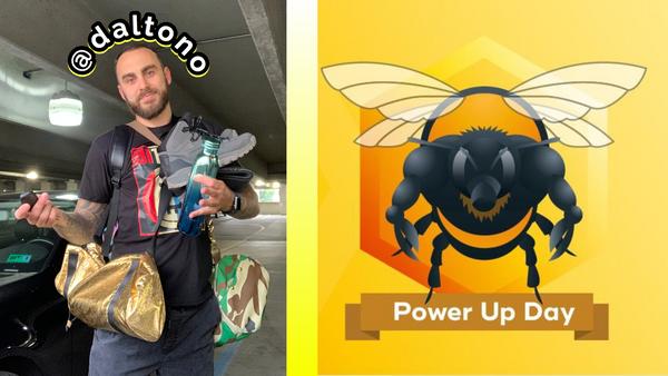 Happy Hive PUD! - I just powered up 100 Hive 💪🐝