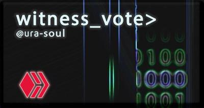 ura soul witness vote for hive