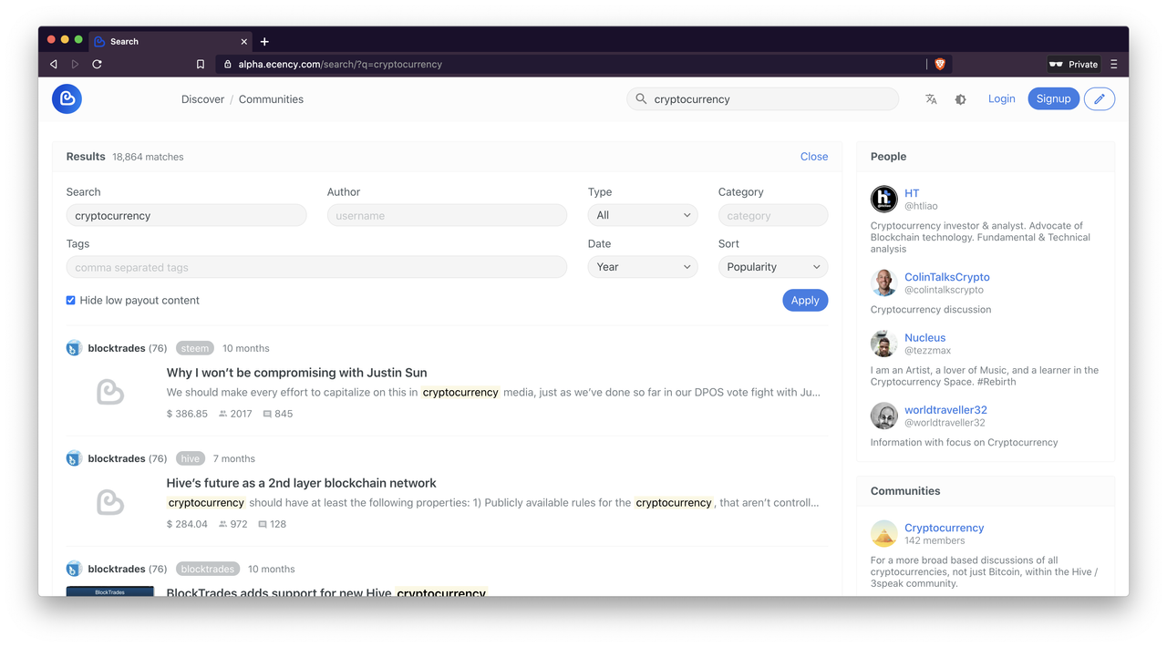 ecency-advanced-blockchain-search