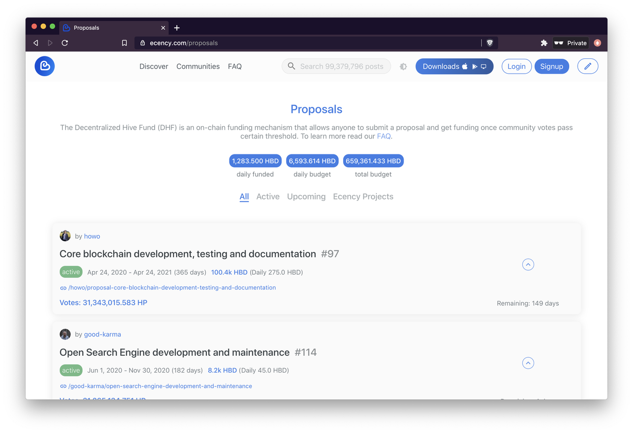 proposals-on-hive-chain