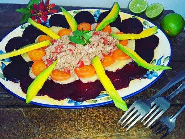 Deliciosa ensalada de atún// Delicious tuna salad// Qurator's: Hive Top Chef! | Salad!