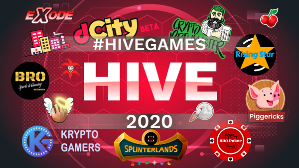 The New Face of 2020 🐝Hive Blockchain Games🎮