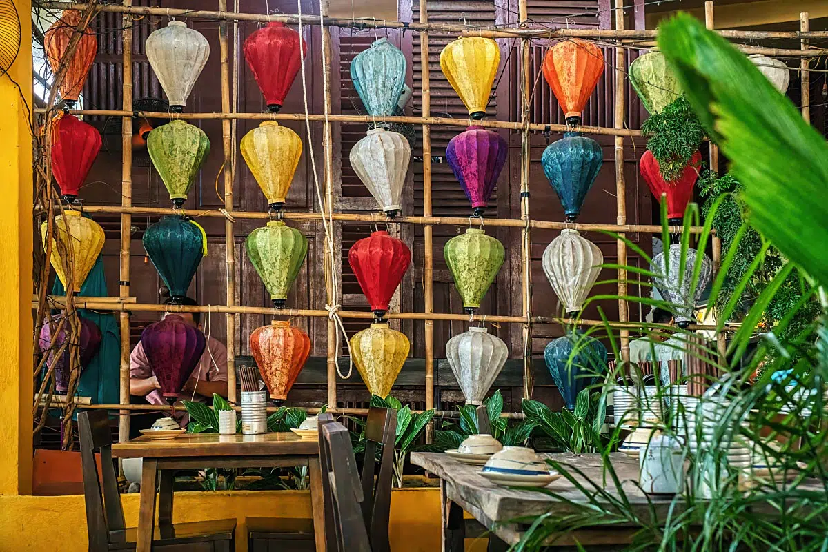 Lanterns are Vietnam